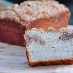 Recipe for Banana Streusel Coffee Cake on The Creekside Cook
