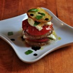 Recipe for Margherita Roast Potatoes on The Creekside Cook