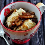 Molasses Apple Cobbler