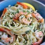Find the Recipe for Vermicelli with Shrimp and Fresh Herbs on The Creekside Cook