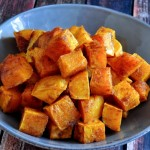 Find the recipe for Chili Roasted Butternut Squash on The Creekside Cook