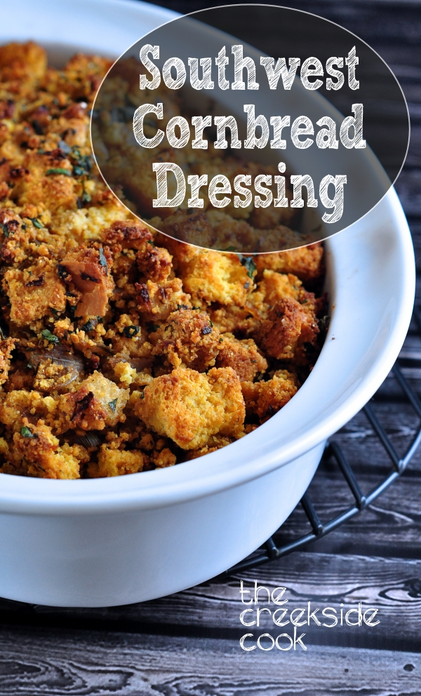 Southwest Cornbread Dressing on The Creekside Cook