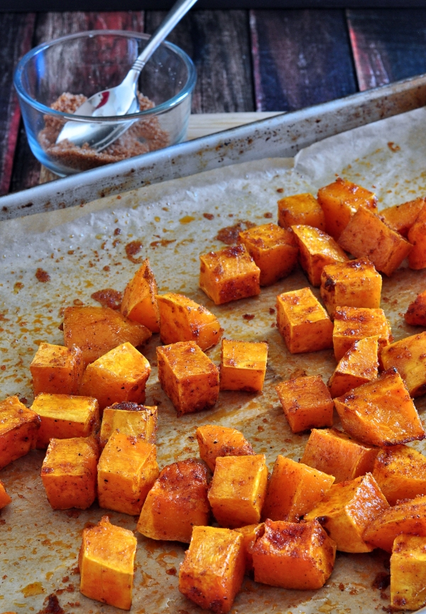 Chili Roasted Butternut Squash The Creekside Cook