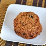 Sweet and Chewy Dried Plum Oatmeal Cookies on The Creekside Cook