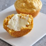 Buttery Yum - Soft Corn Muffins on The Creekside Cook