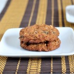 Recipe for Dried Plum Oatmeal Cookies on The Creekside Cook