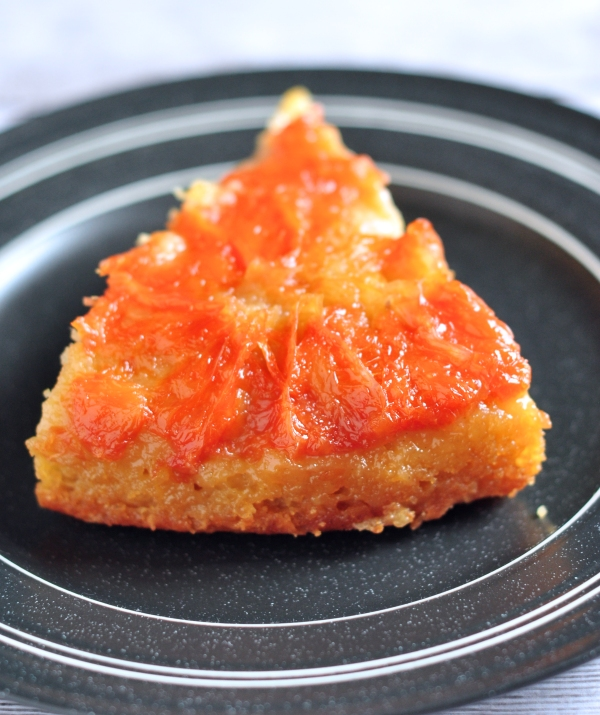 Amazing Upside Down Grapefruit Cake on The Creekside Cook