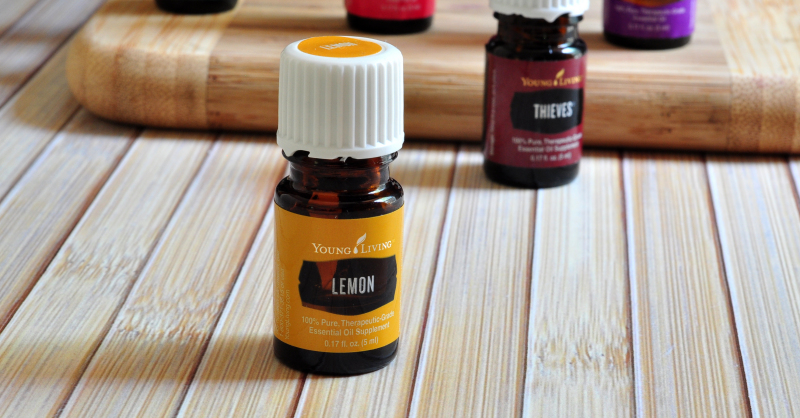 Young Living Lemon Oil on The Creekside Cook