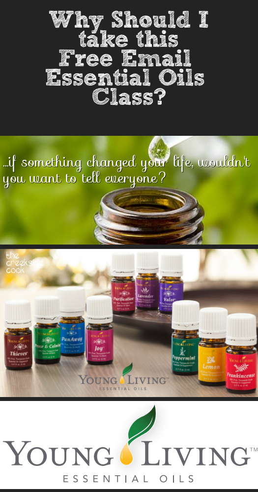 Take a free Essential Oils Class at The Creekside Cook