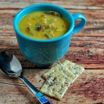 Recipe for Butternut Sausage Soup on The Creekside Cook