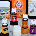 Find the recipe for D.I.Y. Essential Oil Facial Scrub from the Creekside Cook
