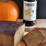 Delicious Pumpkin Beer Bread on The Creekside Cook