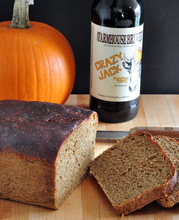 Delicious Pumpkin Beer Bread on The Creekside Cook
