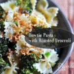 Find the recipe for Recipe for Bowtie Pasta with Roasted Broccoli on The Creekside Cook