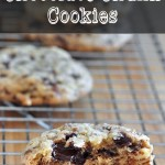Chewy Chocolate Chunk Cookies on The Creekside Cook