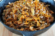 Find the recipe for Sweet & Smokey Braised Cabbage on The Creekside Cook
