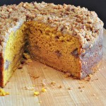 Recipe for Pumpkin Yogurt Crunch Cake on The Creekside Cook