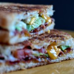 Find the recipe for Avocado Bacon and Grilled Cheese Sandwich on The Creekside Cook