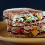 Recipe for Avocado Bacon and Grilled Cheese Sandwich on The Creekside Cook