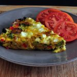Find the Recipe for Veggie Frittata on The Creekside Cook