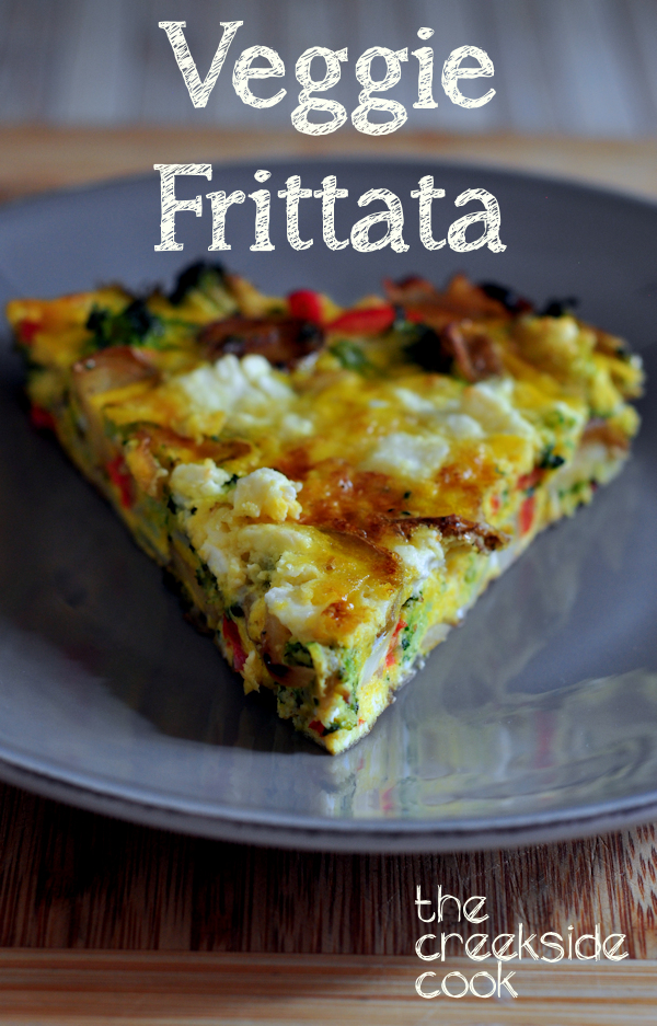 Delicious Veggie Frittata on The Creekside Cook
