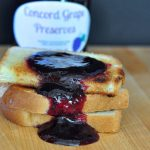 Recipe for Concord Grape Preserves [no pectin recipe] from The Creekside Cook