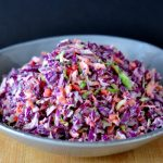 Find the recipe for Rainbow Veggie Slaw on The Creekside Cook