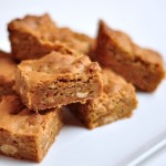 Triple Threat Peanut Butter Blondies