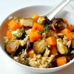 Warm Quinoa and Roasted Vegetable Salad