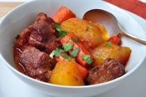 five spice pork stew in bowl