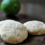 Lime Butter Cookies