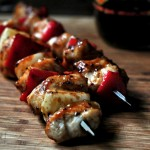 Southwest Chicken Kebabs