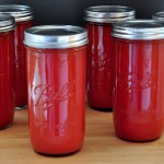 Easy Tomato Sauce for Canning & Freezing