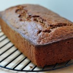 Summer Squash Gingerbread Loaf