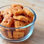 Spicy Tomato Cheese Crackers