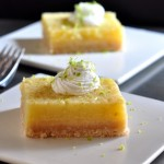 Lime Buttermilk Bars