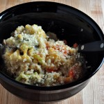 Cheesy Quinoa Veggie Bake on The Creekside Cook