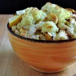 Lemon Garlic Roasted Cauliflower on The Creekside Cook