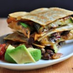 Recipe for Zucchini & Black Bean Bean Quesadillas on The Creekside Cook