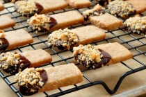 Recipe for Hazelnut Shortbread Cookies on The Creekside Cook