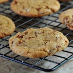 Recipe for Brown Butter Pecan Cookies on The Creekside Cook