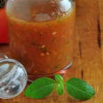 Recipe for Fresh Tomato Vinaigrette at The Creekside Cook