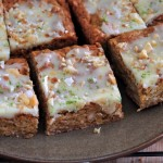 Macadamia Lime Blondies