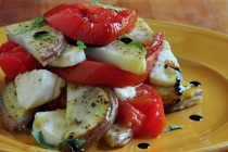 Find the recipe for Margherita Roast Potatoes on The Creekside Cook