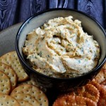 Recipe for Asiago Herb Spread on The Creekside Cook