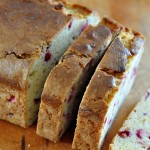 On the blog today: Cranberry Eggnog Bread on The Creekside Cook