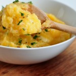 Recipe for Rutabaga Cheddar Mash on The Creekside Cook