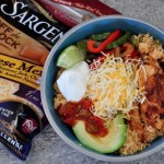 Chicken Fajita Couscous Dinner Bowls