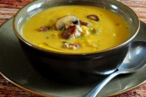Find the recipe for Butternut Sausage Soup on The Creekside Cook