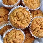 Recipe for delicious Lemony Carrot Muffins on The Creekside Cook